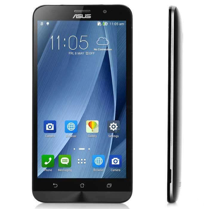 "ASUS ZenFone 2 ZE551ML Intel Z3580 Android 5.0 Quad Core 4G Telefone w / 5.5 ""FHD, 4 GB + 64GB - Cinza"