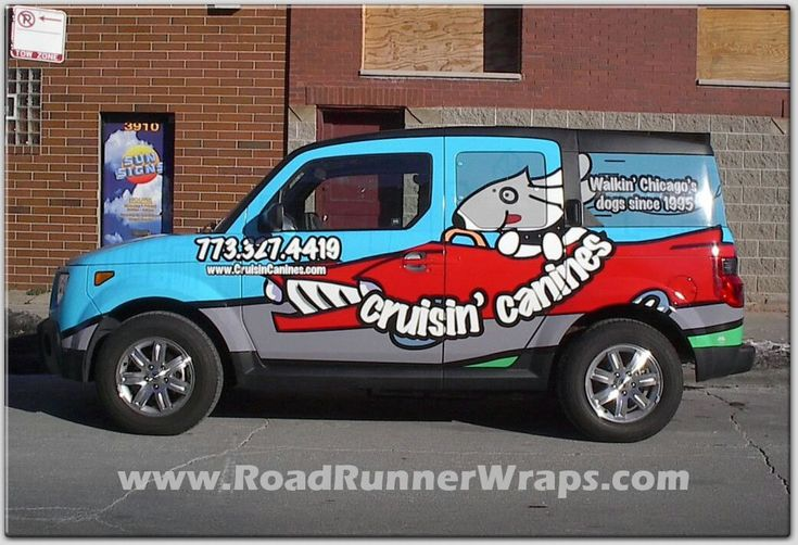 Honda Of Charlotte >> Cruisin Canines auto wrap | Car wrap, Honda element, Vehicles