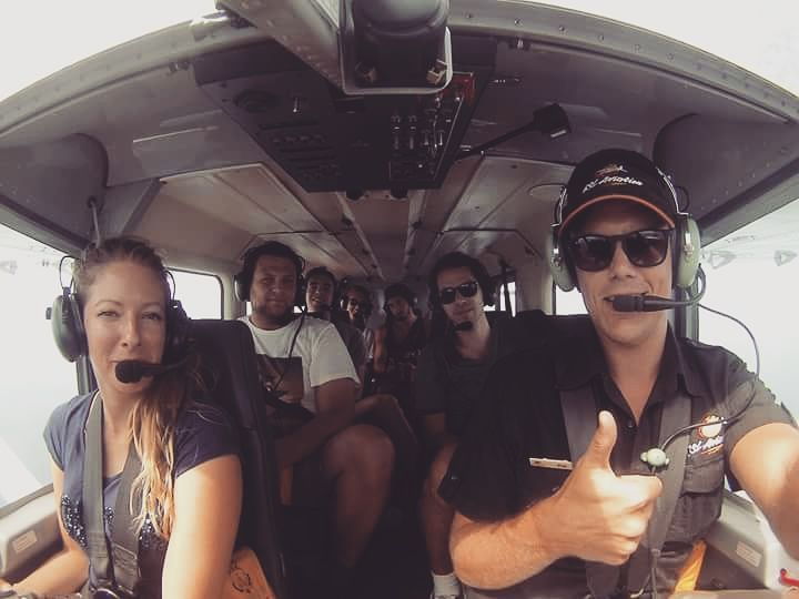 i'm a co-pilote ahah  ! #whitsunday#Queesland#airliebeach#plane#greatbarrierreef#australia#Australie#heartreef# by blondiemoorgaaan http://ift.tt/1UokkV2