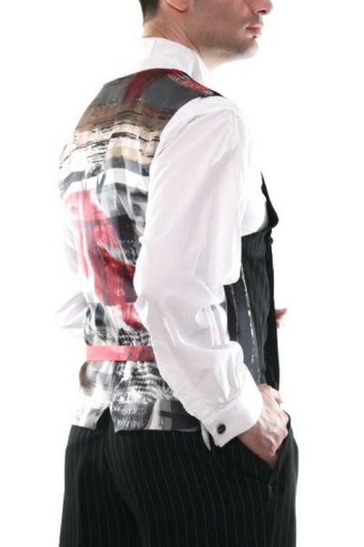 conSignore Men's Black Tango Vest | Tango Clothes For Men   #tangovest #menstangoclothes #argentinetango