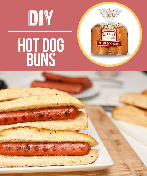 Homemade Hot Dog Buns | 29 Foods You Didn't Know You Could DIY