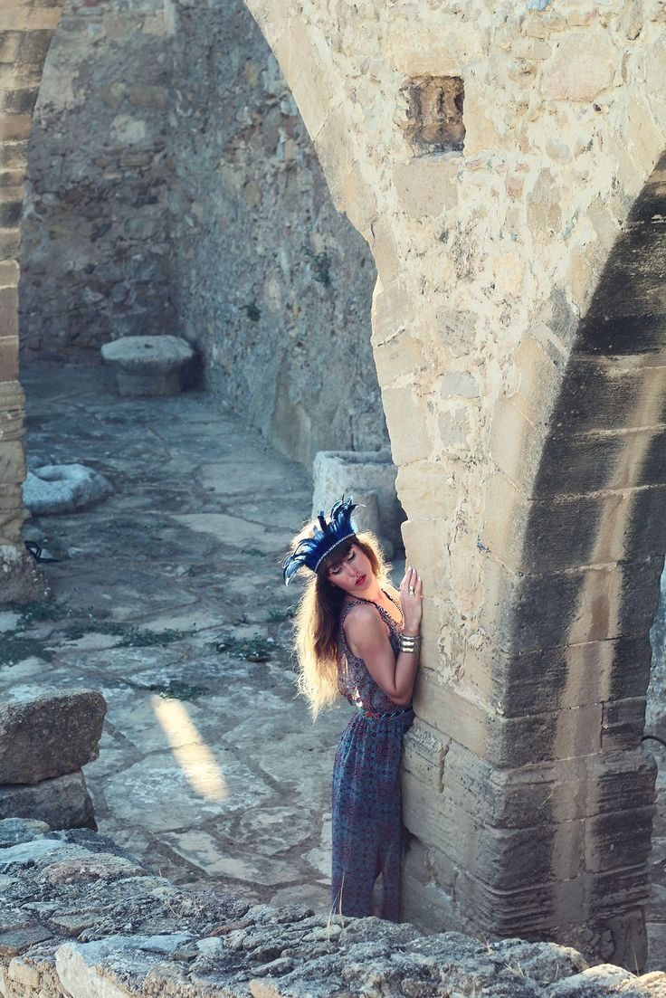 "Polyrrinia Kissamos, Crete Greece.  Pixies in the venitian arches of Polyrrinia : ""I really advice you to go discover this lovely village that is Polyrrinia""! Doll Poupee, fashion, travel and handmade designs."