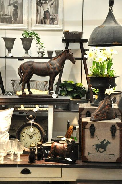 Horse Add sketch picture..leather... galvanized.clocks
