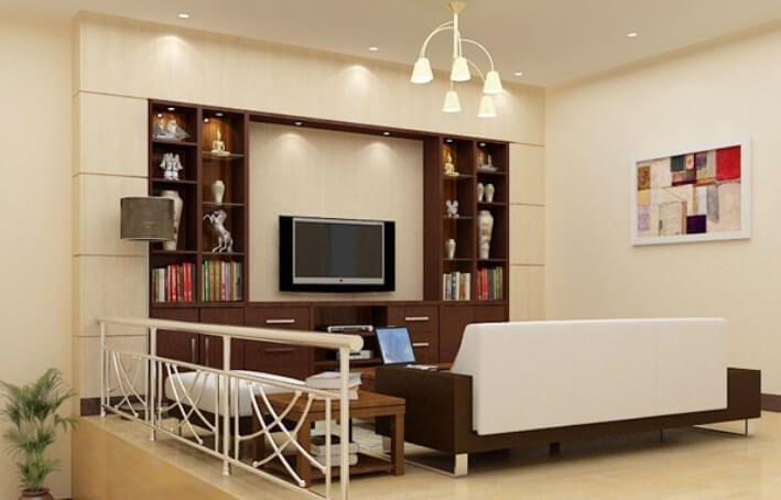 contoh warna krem rumah minimalis modern