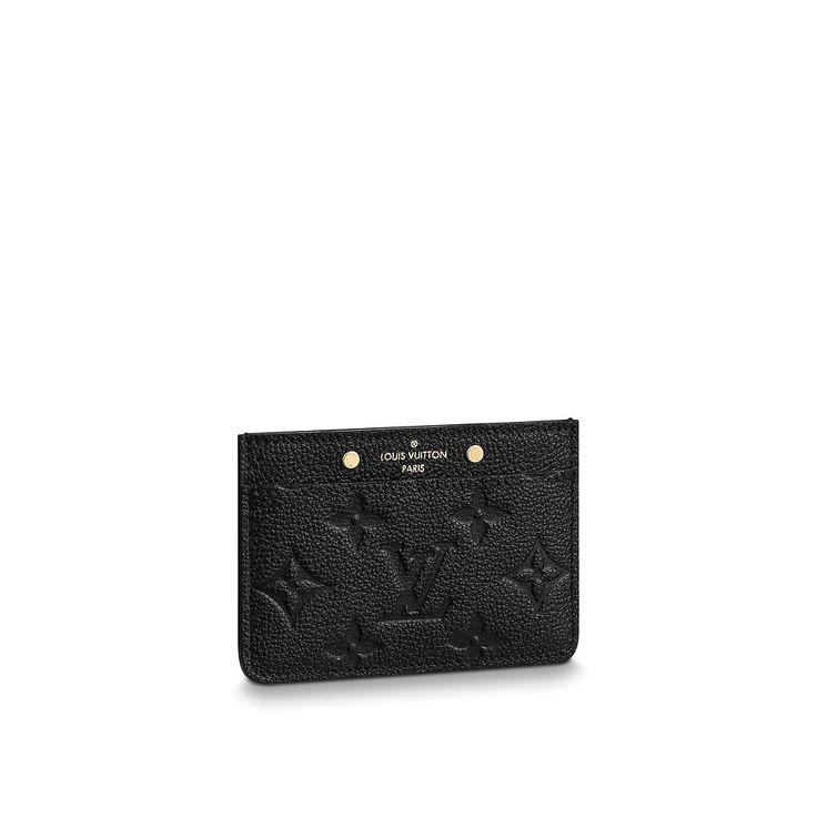 Credit card holder wallet monogram empreinte leather
