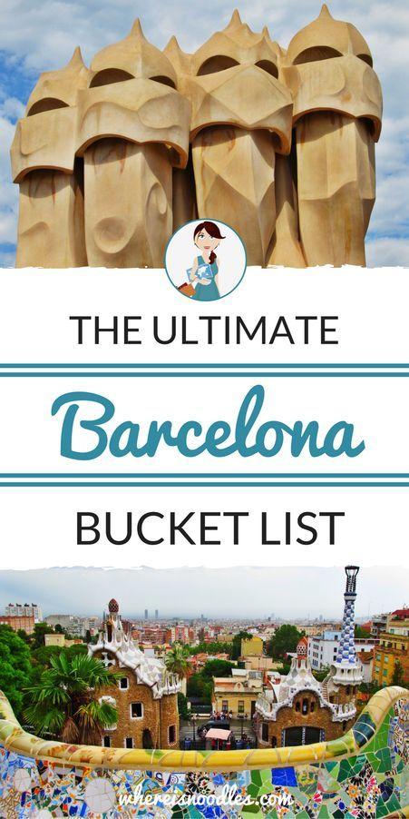 The Ultimate Barcelona Bucket List                                                                                                                                                                                 More