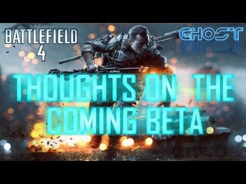 Join me as I discuss my thoughts on the forthcoming Battlefield 4 Beta, possibilities for release date, map selection and player invites.