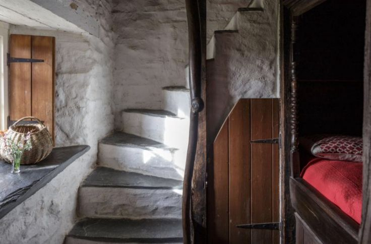 "This cosy staircase is from our feature ""My little Wales"""