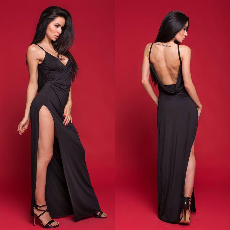 Suknia wieczorowa VIOLET  www.poqash.pl