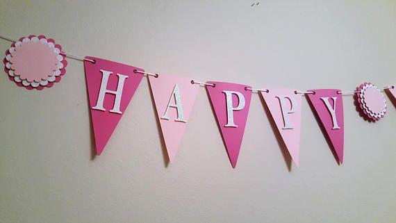 Happy Birthday Banner Birthday Banner Happy 1st Birthday