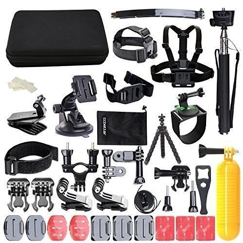 #GoPro #Accessories #Bundle #Action #Sports #Camera #Mounts #Case #Add #Ons #Extras #Black