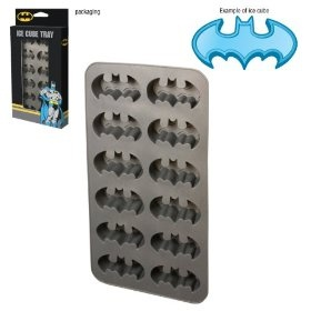 Batman Ice Cube Tray.  Nick would go crazy over this!