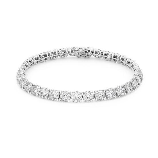 TENNIS ANYONE? How divine!  #diamonds #diamondsinternational #diamond #tennis #bracelet #gold
