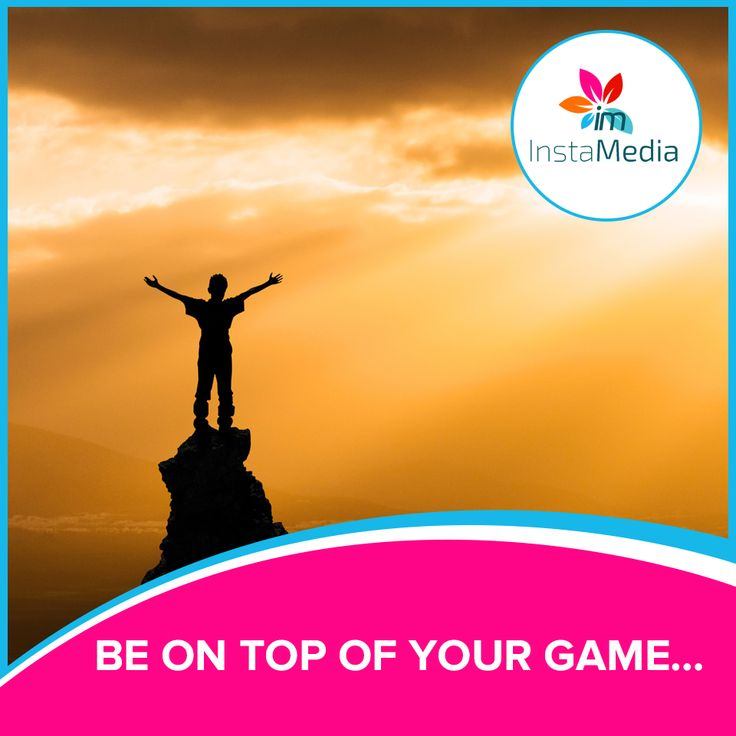 Be on top of your Game… with Instamedia. Call 525 9595! #instamedia #SEO #marketing #caymanislands