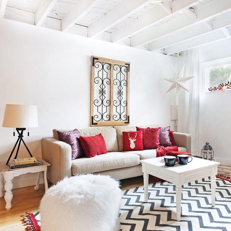 Les propriétaires se sont attelés à la tâche pour transformer leurcave en béton de 900 pi² en sous-sol habitable au décor d'inspirationnordique. En plus d'être tendance, convivial et très lumineux,il accueille aisément toute la famille grâce aux rénovations quiont fait doubler la superficie de la maison.