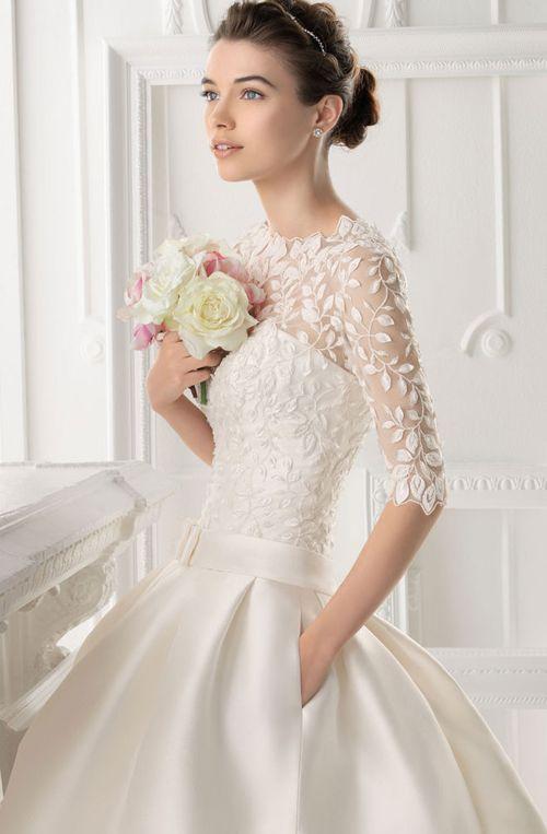 Romantyczne suknie ślubne.
