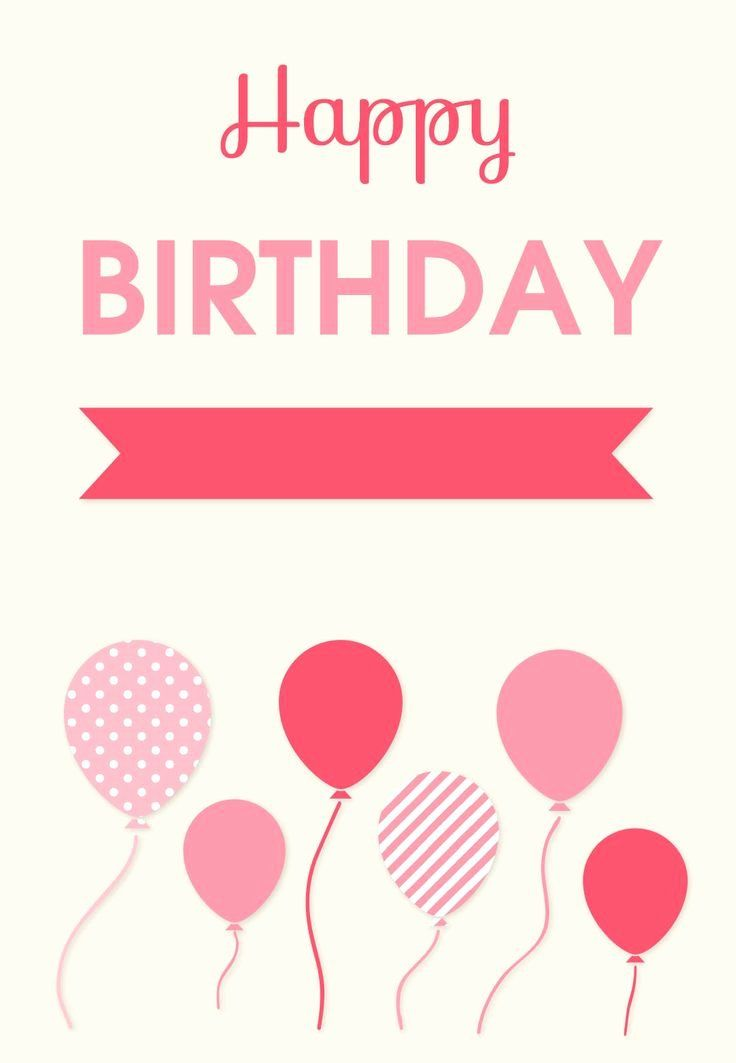 40 Free Birthday Card Templates In 2020 Happy Birthday Cards