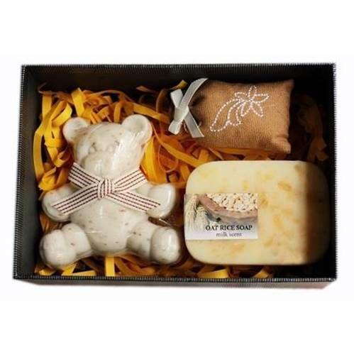 Soap Gift Box - Teddy Bear - Shop Online Now at www.lillyjack.com.au