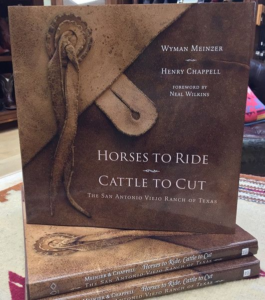 """""""Horses to Ride and Cattle to Cut:  The San Antonio Viejo Ranch of Texas"""" book has 192 pages. Within these pages will be a visual treat of the history, land, fauna, flora and weather that define this last frontier in the Wild Horse Desert, and with a text that will transport the viewer onto the very land into a reading adventure defining the hardships, sacrifice and the fascinating culture that is old time Texas alone our southern borderland.  Hard Cover Book size: 12"""" x 12"""""""