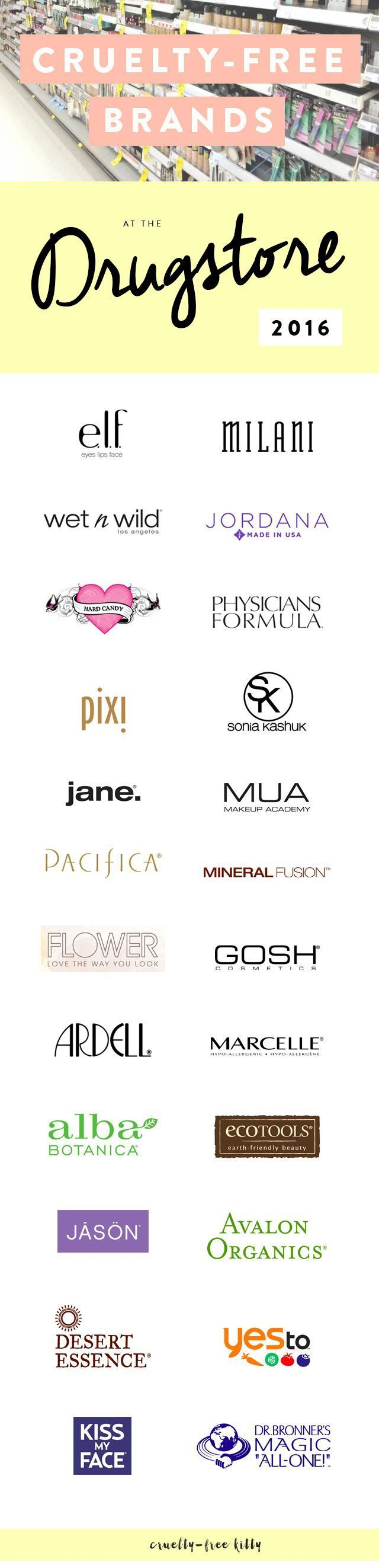 A ton of affordable cruelty-free brands!