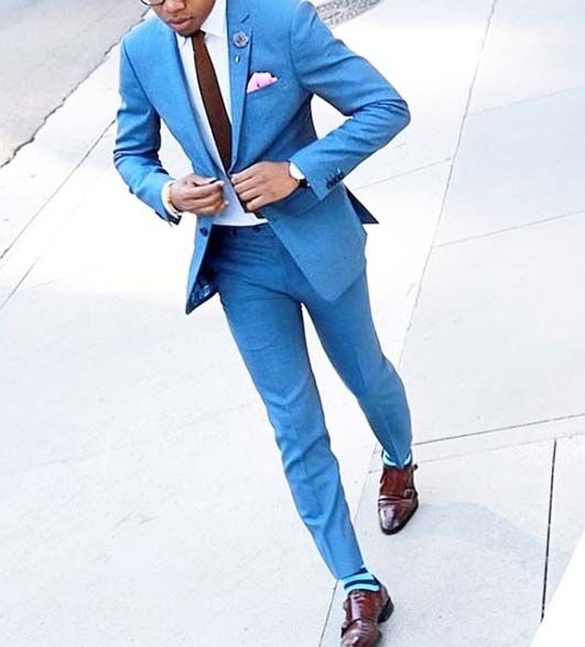 The 25  best Light blue suit ideas on Pinterest | Blue suits, Blue ...