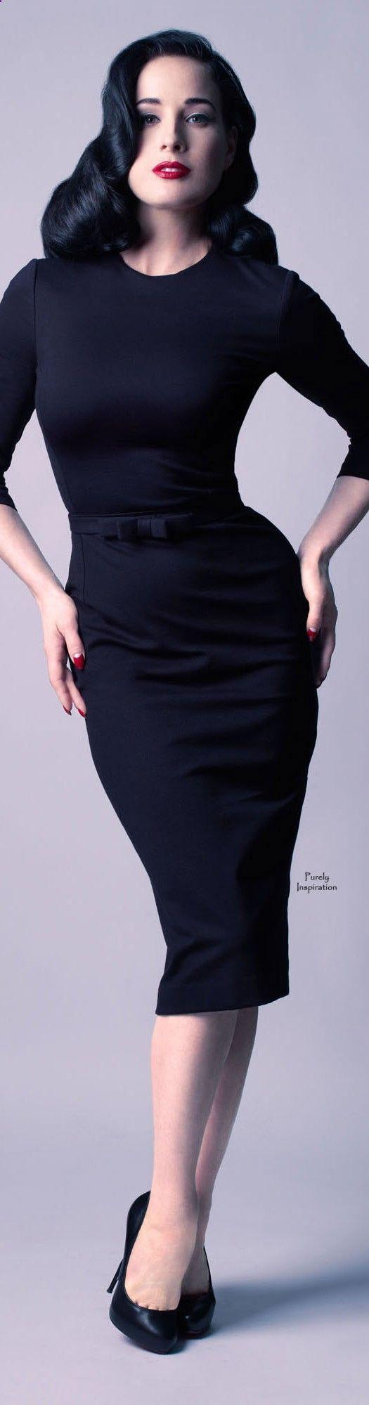 Vintage Style Dita Von Teese | Purely Inspiration Moi Dita Von Teese! Je suis La Femme par Excellence!