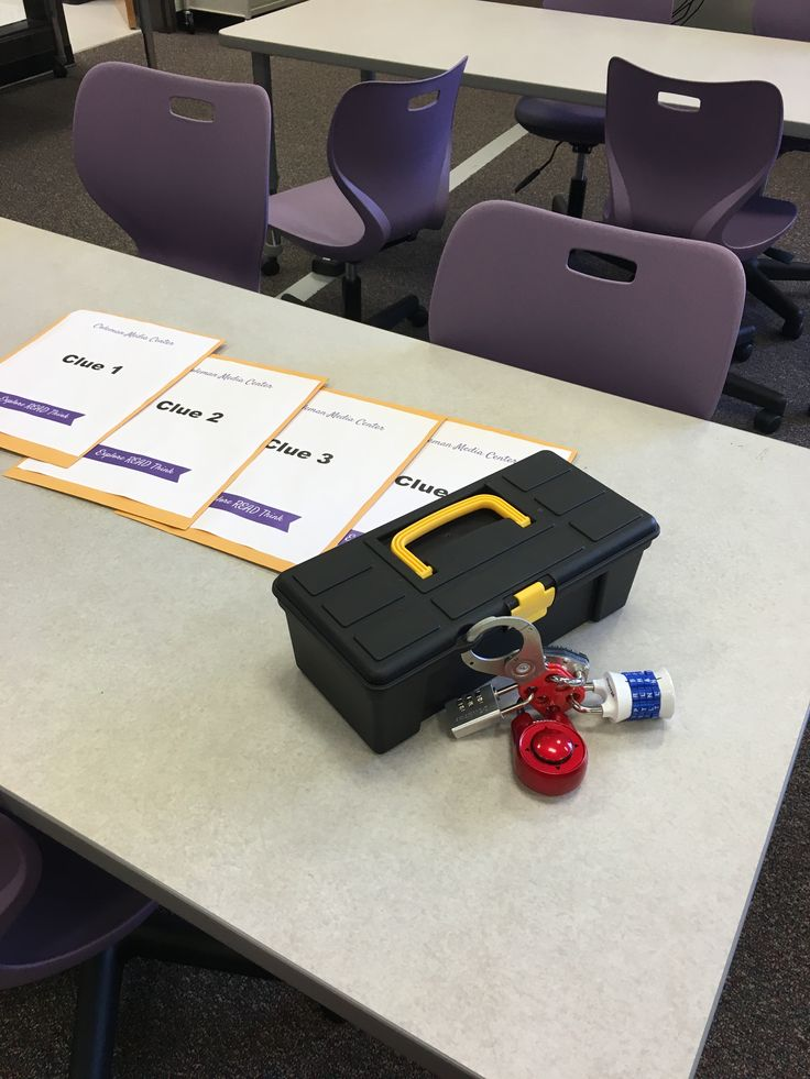 After hearing about Breakout Edu at ISTE this summer I knew I had found my library orientation. I am opening a new STEAM middle school in my district this year and the library is set up by genre, w…