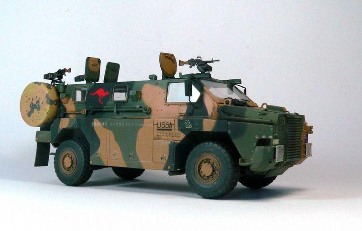 showcase models australian bushmaster 1/35 built - Google Search
