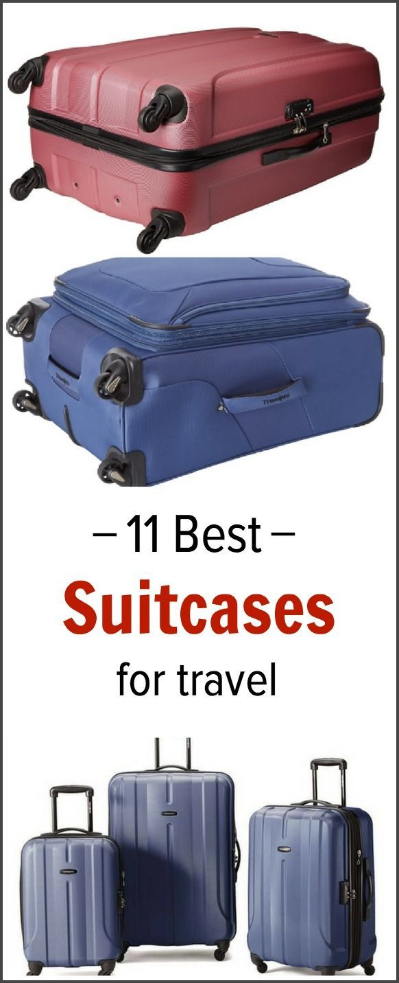 Looking for a new suitcase? Check out this list of 11 best suitcases for travel.