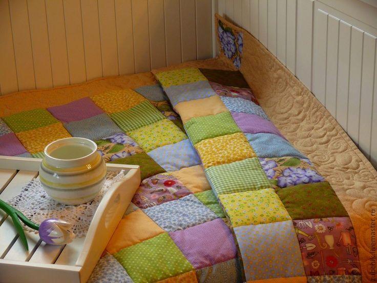 Как сделать теплое лоскутное одеяло