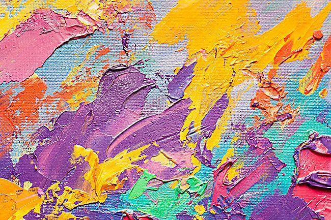 Oil Paint Background Colors Painting Art Background Paint