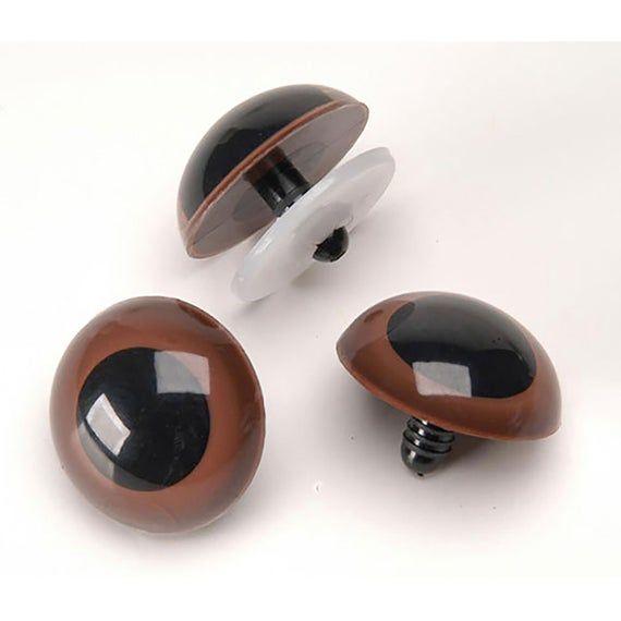 4mm Black Animal eyes Small Plastic eyes craft safety eyes 100pcs
