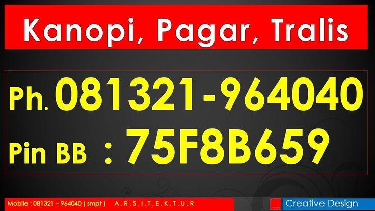 Ph.081321-964040 Kanopi Baja Ringan Bandung, Baja Ringan Bandung, Kanopi...