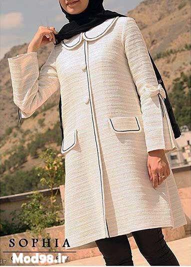 مدل مانتو مجلسی جدید 2019 Iranian Women Fashion Hijab