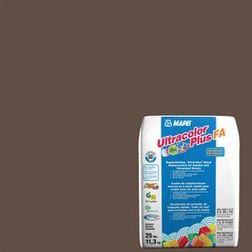 Mapei Ultracolor Plus Fa 25-Lb Cocoa Sanded/Unsanded Powder Grout 6Bu0