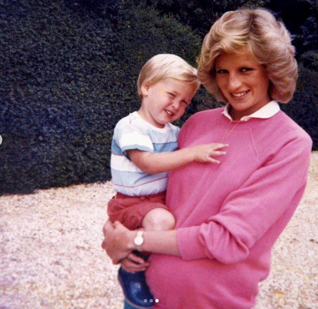 Las imágenes más personales de Diana de Gales en el 20º aniversario de su muerte