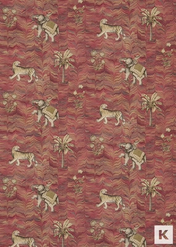 Jaipur fabric by Zoffany part of Jaipur Prints and Embroideries collection | Kingdom Interiors