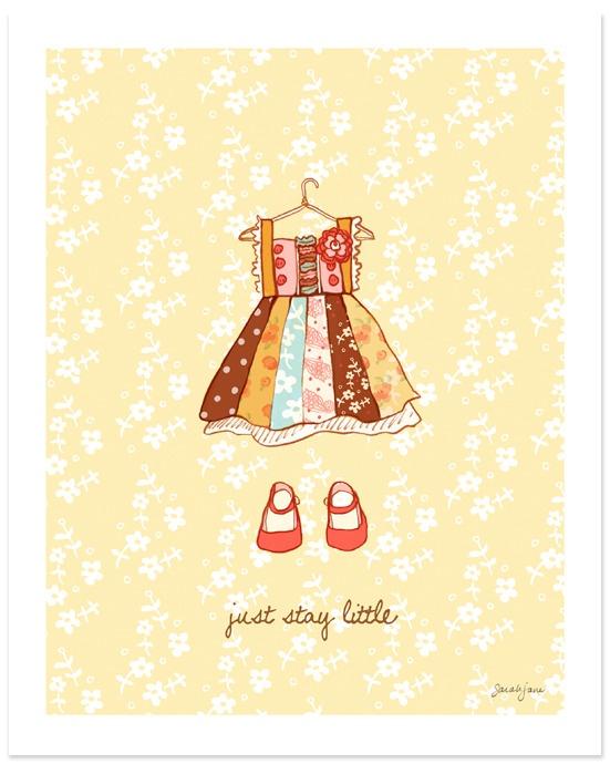 Just Stay Little (Girl): Wall Art, Nurseries Rooms, Art Prints, Sarah Jane, Big Girls Rooms, Little Girls Rooms, Stay Little, Kid, Girl Rooms