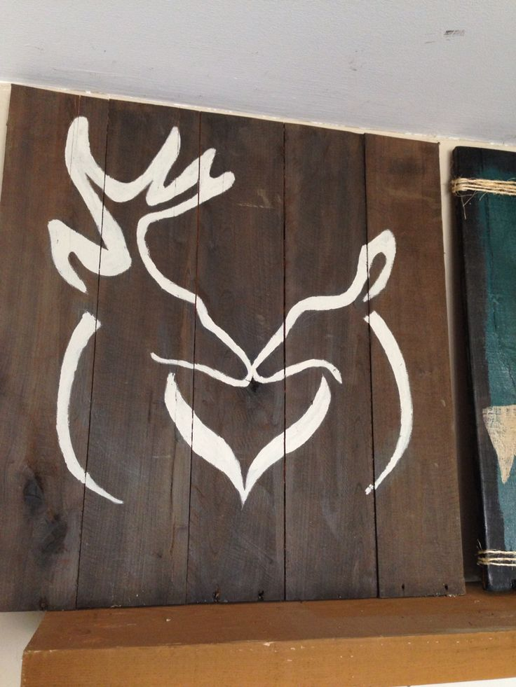 Buck And Doe Sign Wooden Signs Amp Barn Board Pinterest