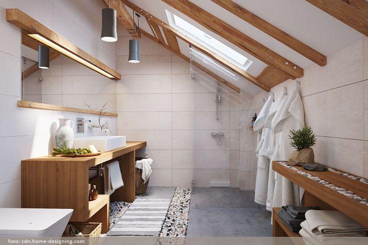 Koupelna v harmonii s duší majitele