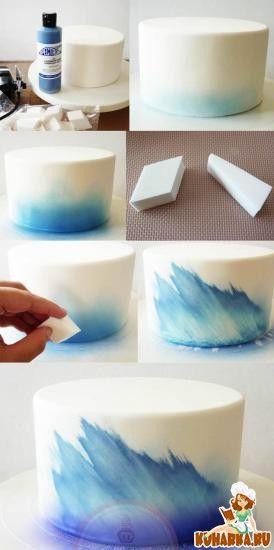 Рисованные торты