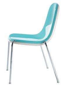 Butterfly från Magis är en stol som är designad av Karim Rashid. Stolen kan väljas i flera olika färger. #stolar #restaurangstolar #cafestolar #magis #dialoginterior