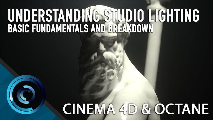 Understanding Basic Studio Lighting Techniques In Cinema 4d and Octane R...