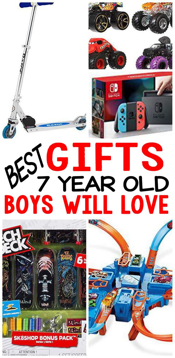 Gifts 7 Year Old Boys BEST Gift Ideas For 7th Birthday Christmas Holiday Or Just Because Cool Presents That Will Love