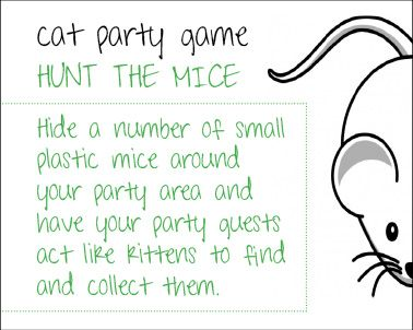More Cat ideas here - http://creative-party-themes.com/cat_theme_birthday_party.html