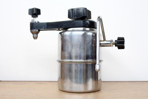 Vintage 1960s Stove Top Steamer 60s Atomic Style Coffee
