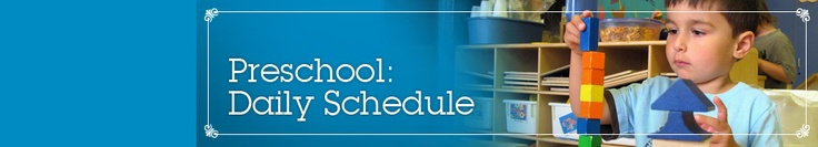 Lincoln Park Preparatory - A Day In The Life: Preschool (Daily Schedule)