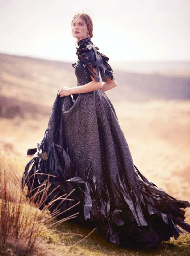 Hautekills Dark Star Iris Van Berne By Tom Allen Harpers Bazaar UK September 2013 Find This Pin And More On Victorian