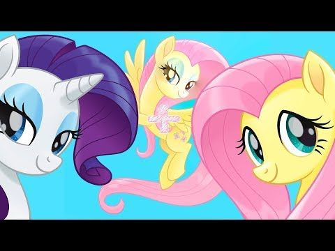 My Little Pony The Movie Fluttershy funny Face Swaps with other ponies - YouLoveIt.com