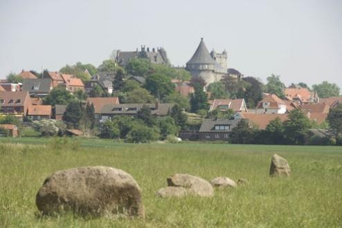 Bad Bentheim vanuit het zuiden